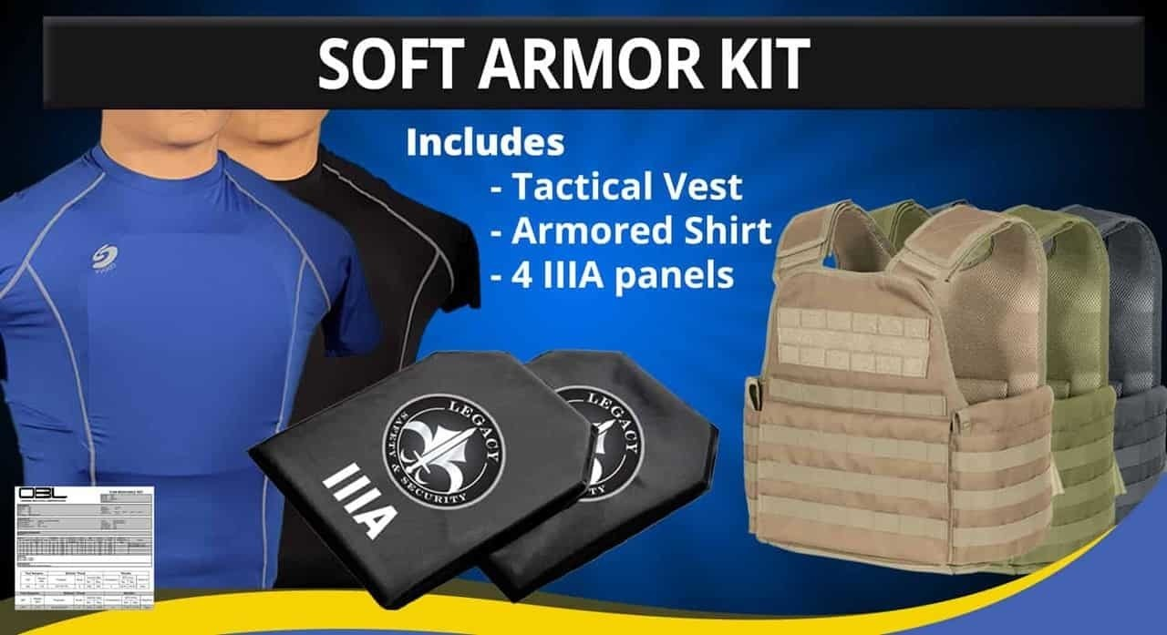 Level IIIA Soft Armor Kit Image