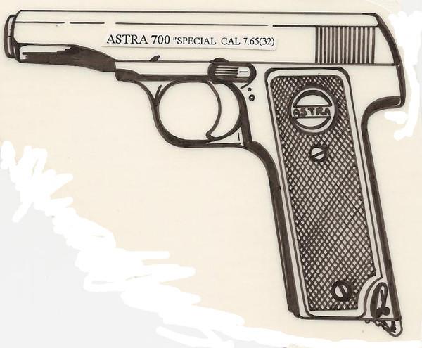 Astra 700 Special 32 ACP Image