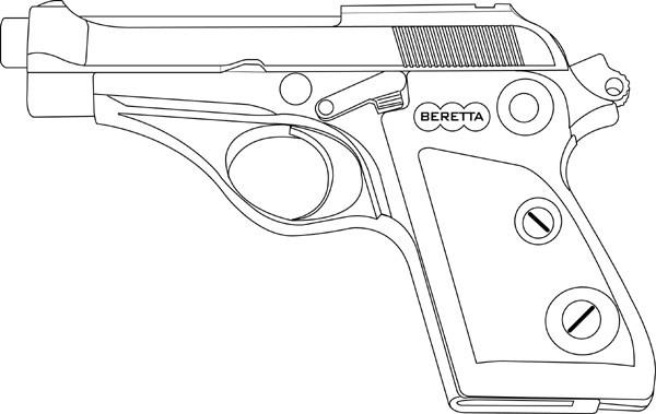 Beretta Puma (70) .32 ACP, 7 RD Magazine Or Grips Image
