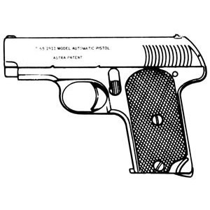 Astra Model 1911/1915, .32 ACP, 6 RD Image