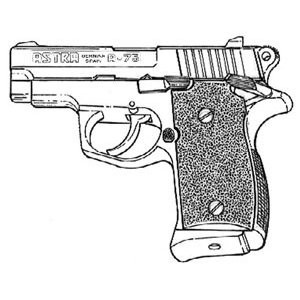 Astra A 75, .45 ACP, 6 RD, Factory Mag Image