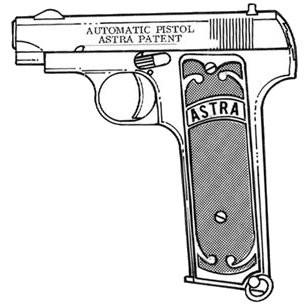 Astra Model 1001, .32 ACP 11 RD Image