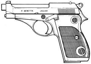 Beretta – Jaguar, 70s, 71, 72, 73 / .22LR, 8 RD Magazine Or Grips Image