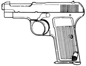 Beretta – 1915, .32 ACP, 7 RD Image