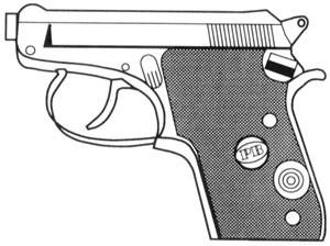 Beretta – 21A, .22 LR, 7 RD Magazine Or Grips Image