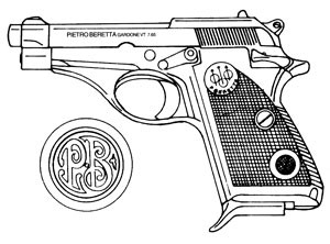 Beretta Jaguar, 70,71, 72 22 LR 8RD Magazine Or Grips Image