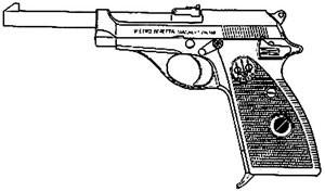 Beretta 70 T, .32 ACP, 9 RD Image