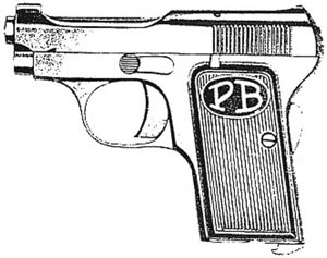 Beretta 1915 – 1919, .32 ACP, 7 RD Magazines Or Grips Image