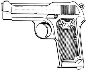 Beretta 1923, 9mm, 8 RD Image