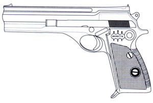 Beretta 76/101, .22 LR, 10 RD Image