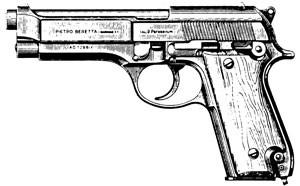 Beretta – Model 92 9mm, 15 RD Or 10 RD Image