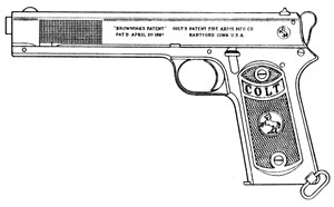 Colt 1902 Military, .38 Auto, 8 RD Magazine Or Grips Image