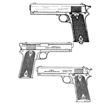 Colt 1905, .45 ACP, 7 RD Image