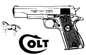 Colt 1911, .45 ACP, 8 RD Magazines Blue Or Stainless Image