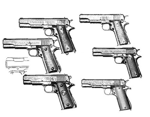 Colt 1911, .45 ACP, SS, 10 RD Image