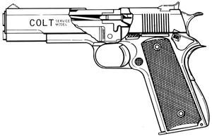 Colt Ace/Conversion, .22LR, 10 RD Magazine Or Grips Image