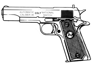 Colt Gold Cup, .38 Special, 5 RD Image