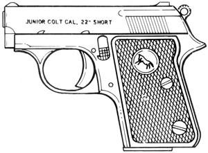Colt Junior, .22 Short, 6 RD Image