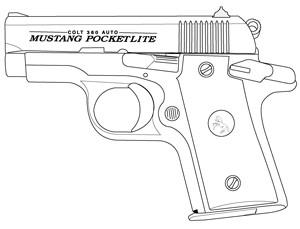 Colt Mustang / Colt Pocketlite .380 ACP, 6 RD Image