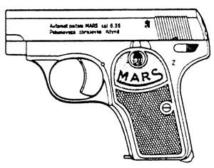 Mars Vest Pocket, .25ACP Magazine Or Grips Image