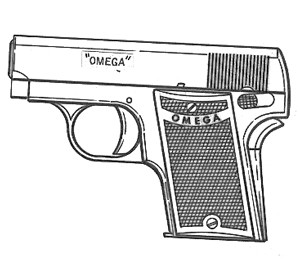 Omega Pocket, .32ACP, 6 RD Image