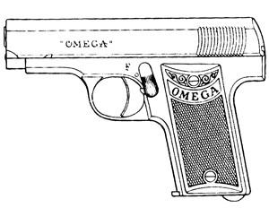 Omega Vp, .25ACP, 6 RD Image
