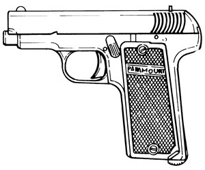 Paramount 1914, .32ACP, 9 RD Magazine Or Grips Image