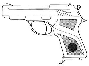 Qfi La380 (Quality Firearms) .380ACP, 7 RD: Image