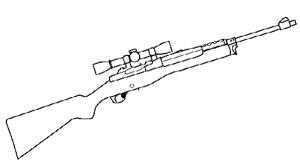 Ruger Mini 30, 10 RD, Nickel Image
