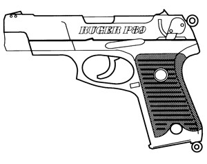 Ruger P-85, 9mm, 10 RD Image