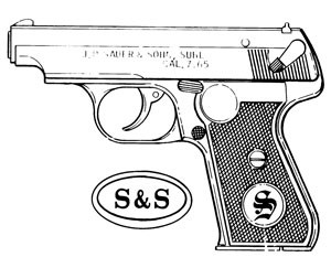 Sauer 38H, 7.65mm, 15 RD Image