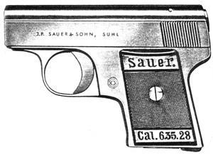 Sauer WTM (1928), .25ACP, 6 RD Image