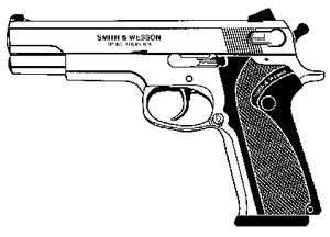 Smith & Wesson 4500 / 4506 / 645 Series, .45ACP, 8 RD Image