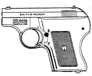 Smith & Wesson 61 Escort, .22LR, 5 RD Magazine or Grips Image