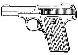 Smith and Wesson 35, .35 Auto, 7 RD Image