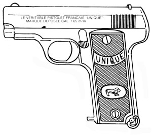 Unique Model 17, .32ACP, 9 RD Image