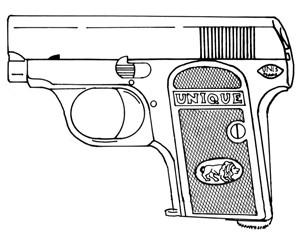 Unique Model 13, .25ACP, 10 RD Image