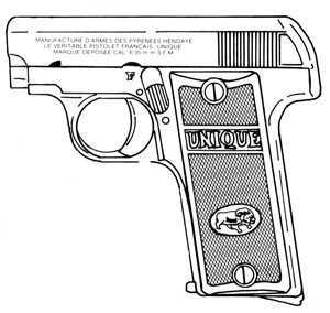 Unique Model 14, .25ACP, 10 RD Image