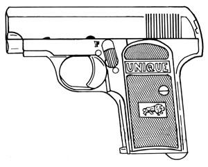 Unique Model 16, .32ACP, 7 RD Magazine Image