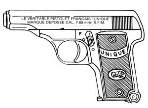 Unique Model 19, .32ACP, 7 RD Image