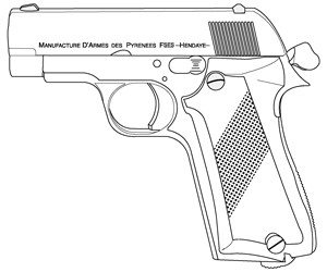 Unique Model C, .32ACP, 9 RD Image