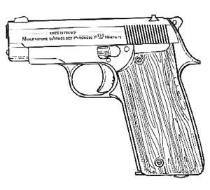 Unique Model F, .380ACP, 8 RD Image