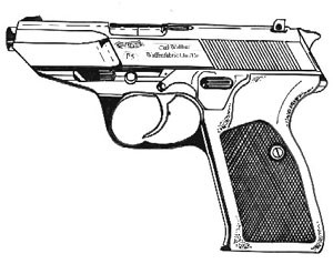 Walther P-5, 9mm Image