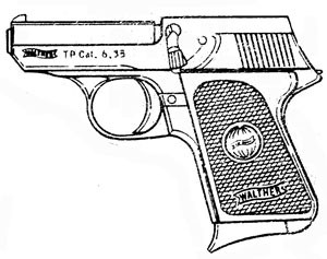 Walther TP, .25ACP Magazine or Grips Image