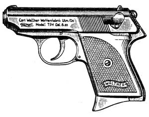 Walther TPH, .22LR, 6 RD Image