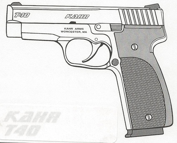 Kahr Arms T40 .40 S&W 7RD Image