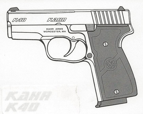 Kahr Arms K40 .40 S&W 6RD Image