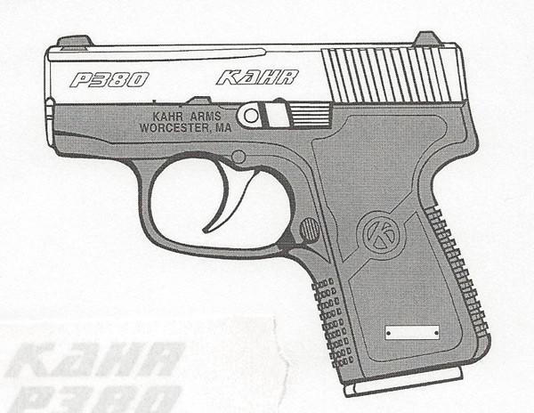 Kahr Arms P380 .380 ACP 6RD Image