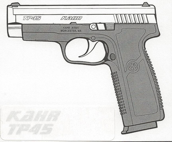 Kahr Arms Tp45 .45 ACP 7 RD Image