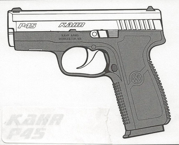Kahr Arms P45 .45 ACP 6 RD Image